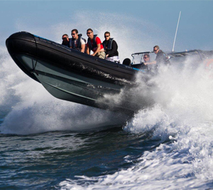 RIB Boat (up to 12 people)