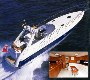 40ft Sunseeker Portofino (up to 7 people)